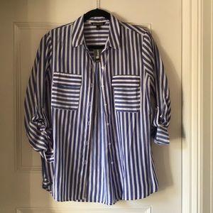 NEVER WORN! Express button down blouse.